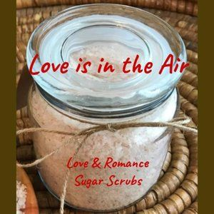 Love is in the Air Scrubs - 16 oz Apothecary Jar